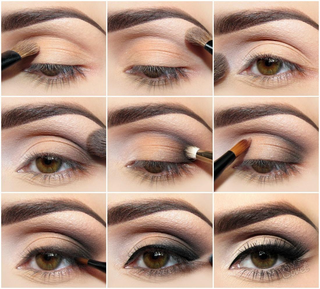 Как научиться красить глаза